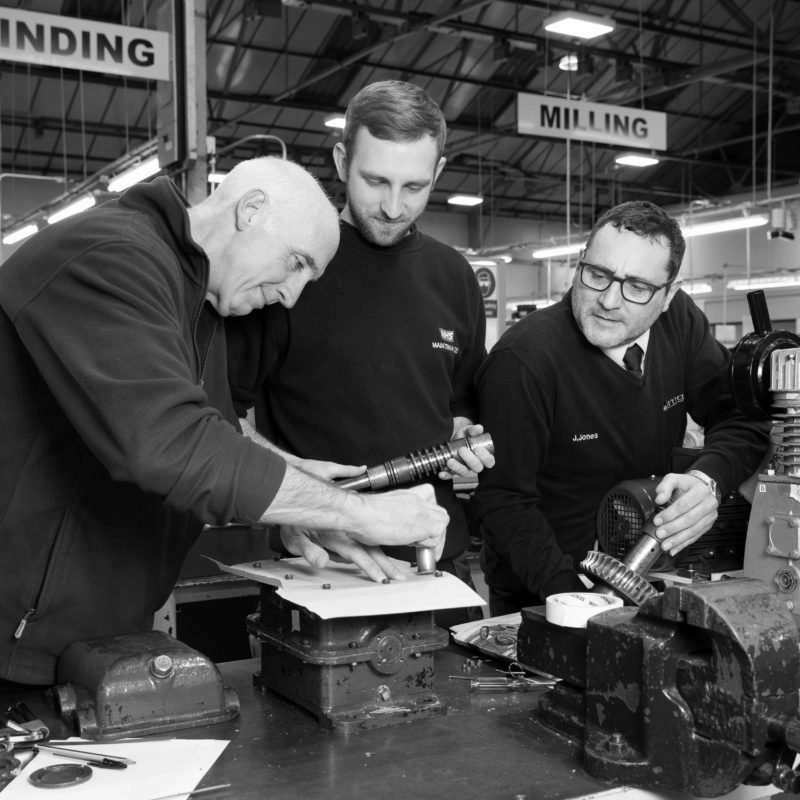 Engineers training at MGTS in Coventry