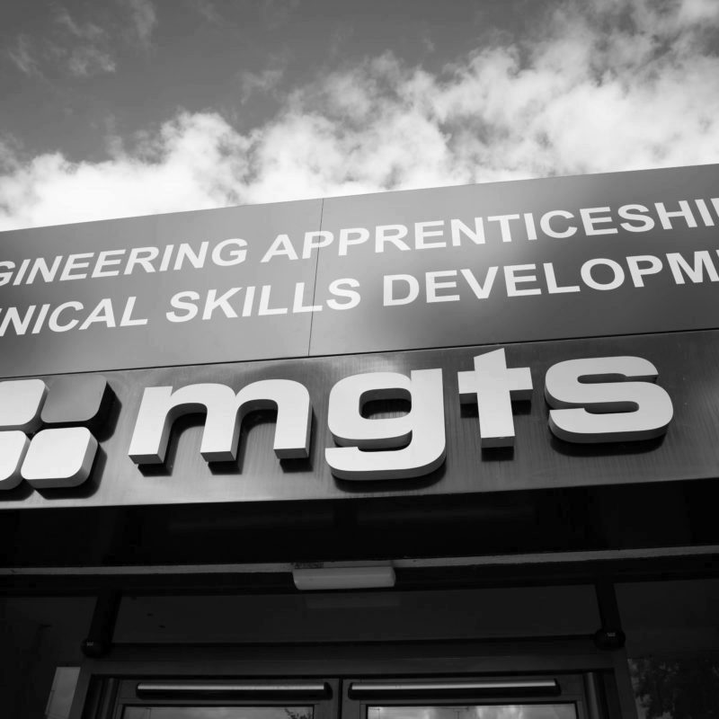 The front of MGTS Redditch